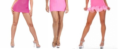 hot legs short dresses