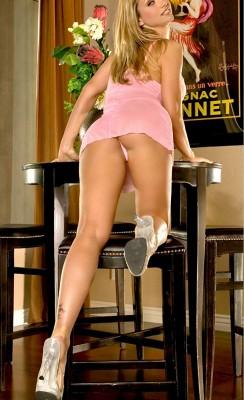 Pink Micro Skirt