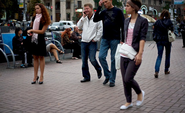 eastern-european-women-walk